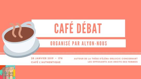 Café-débat «Les opposants aux droits des femmes»