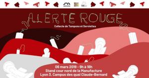 Collecte «Alerte-Rouge» du 6 mars 2019