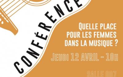 Conférence «Quelle place pour les femmes dans la musique ?»