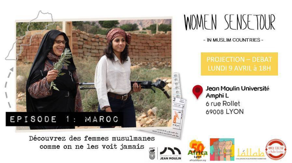 Projection-débat « Women SenseTour in muslim countries »