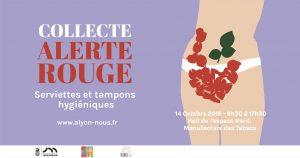 Collecte «Alerte Rouge» du 14 octobre 2019.