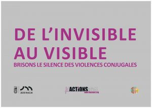 « De l'invisible au visible », brisons le silence contre les violences conjugales