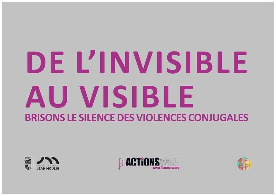 «De l'invisible au visible», brisons le silence contre les violences conjugales