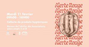 Collecte «Alerte Rouge» du 11 février 2020