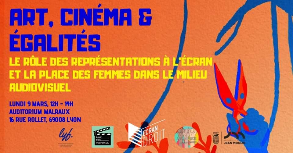 Art, cinéma et égalités