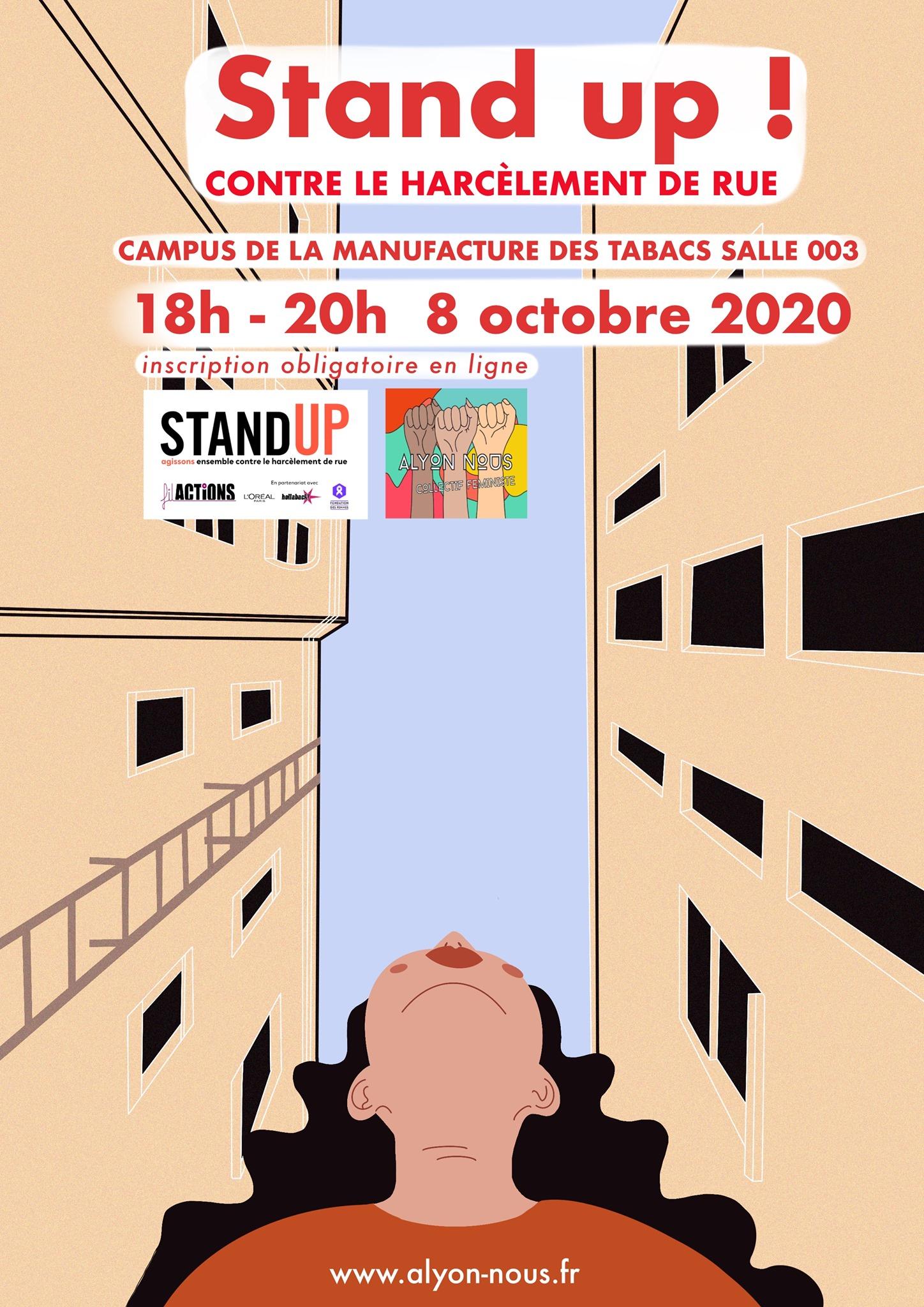 «Stand Up» contre le harcèlement de rue